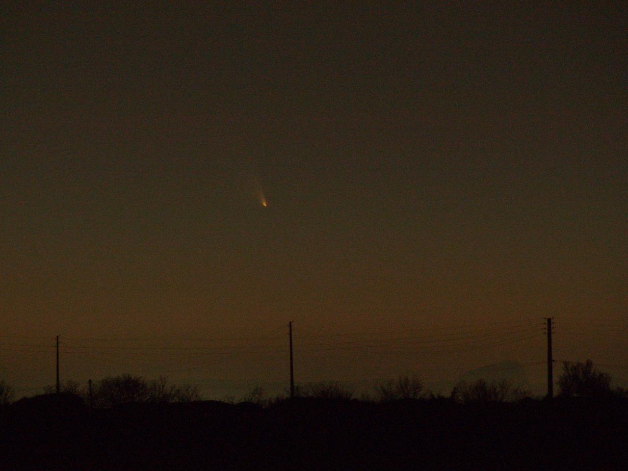 Comète Pannstarrs 15 mars