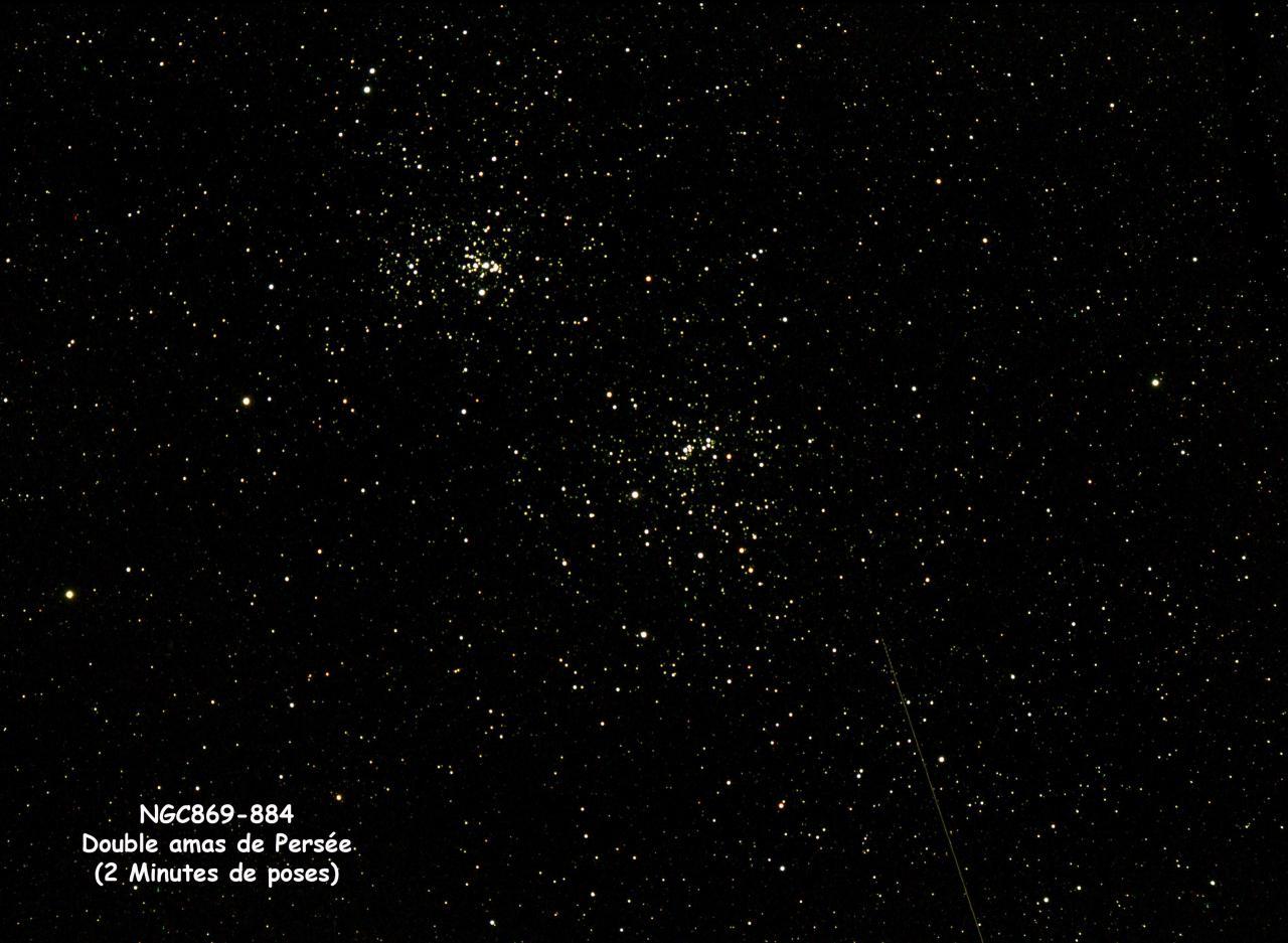 NGC869-884 Double amas de Persée