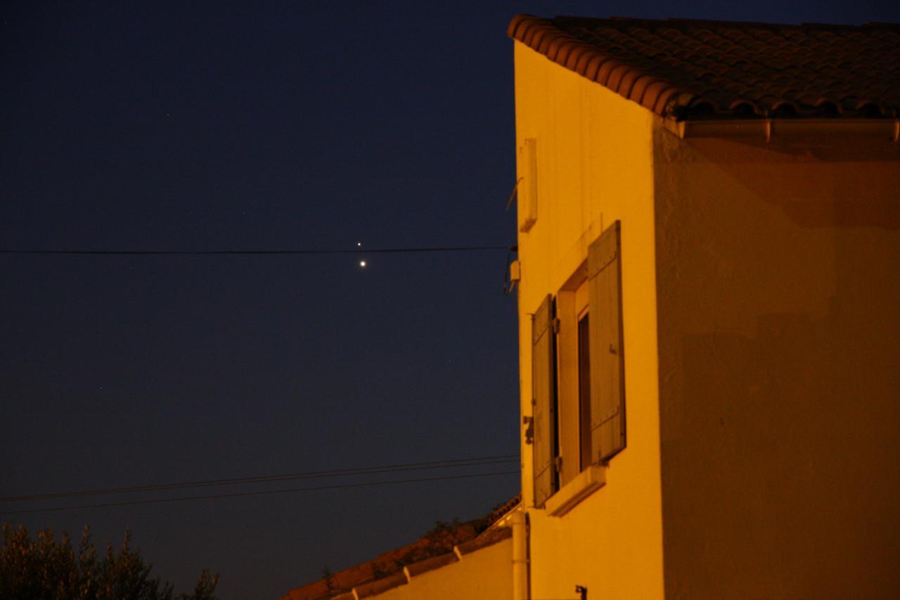 Vénus et Jupiter