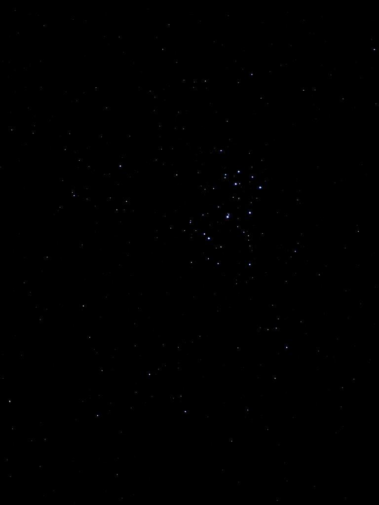 Les pleiades (prises de la Bastide Puylaurent)