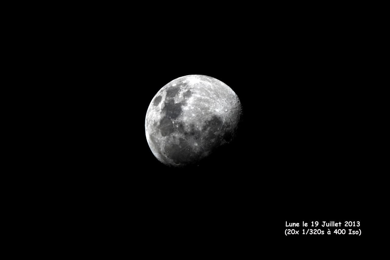 Lune le 19 Juillet 2013
