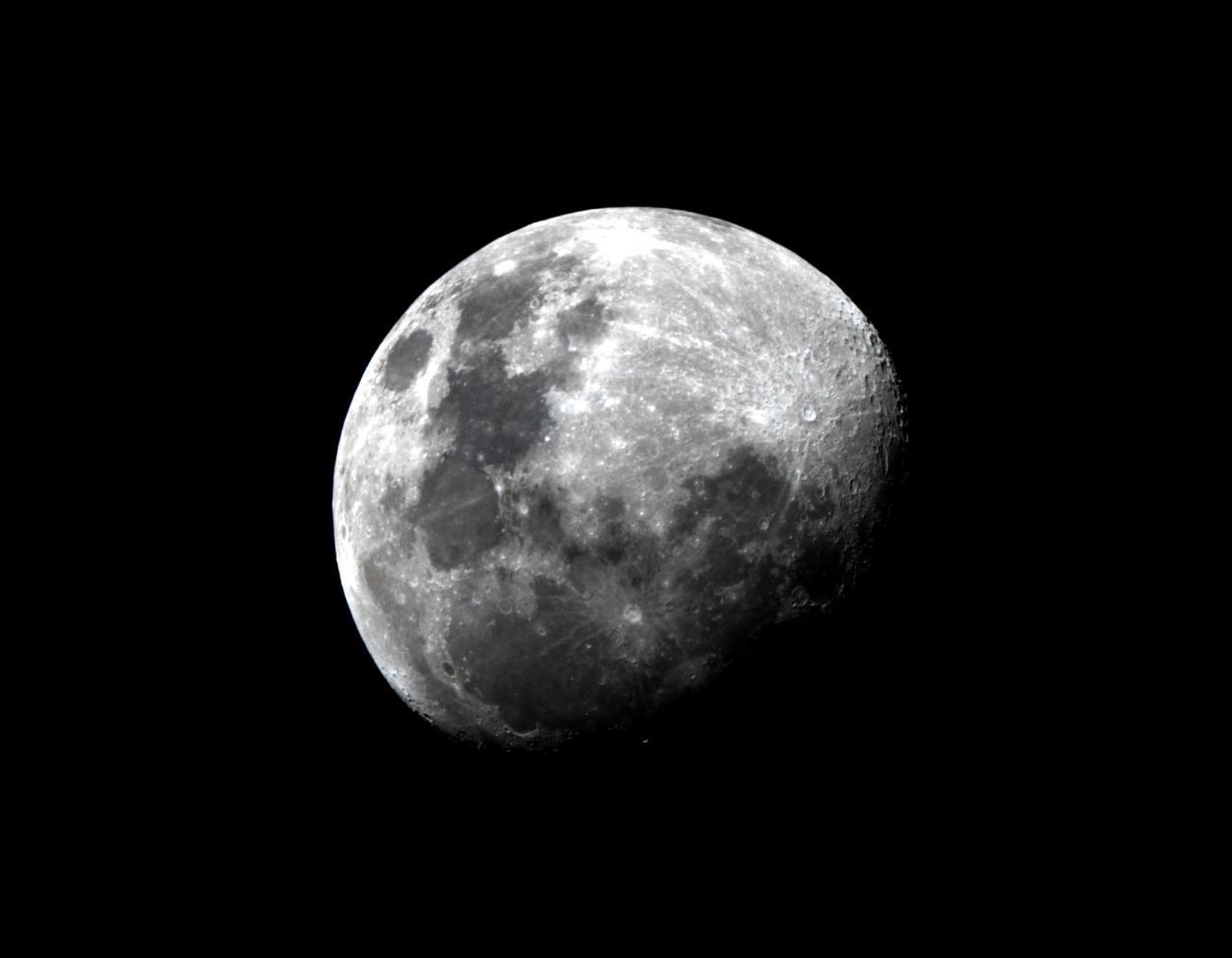 Lune le 19 Juillet 2013 zoom