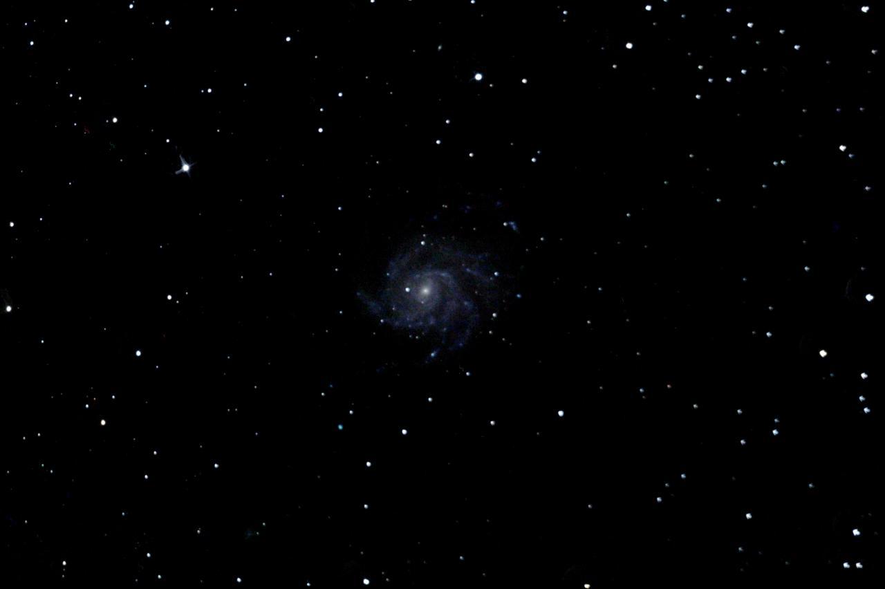 M101 (photo prise depuis l'observatoire des Pises en Cévennes)