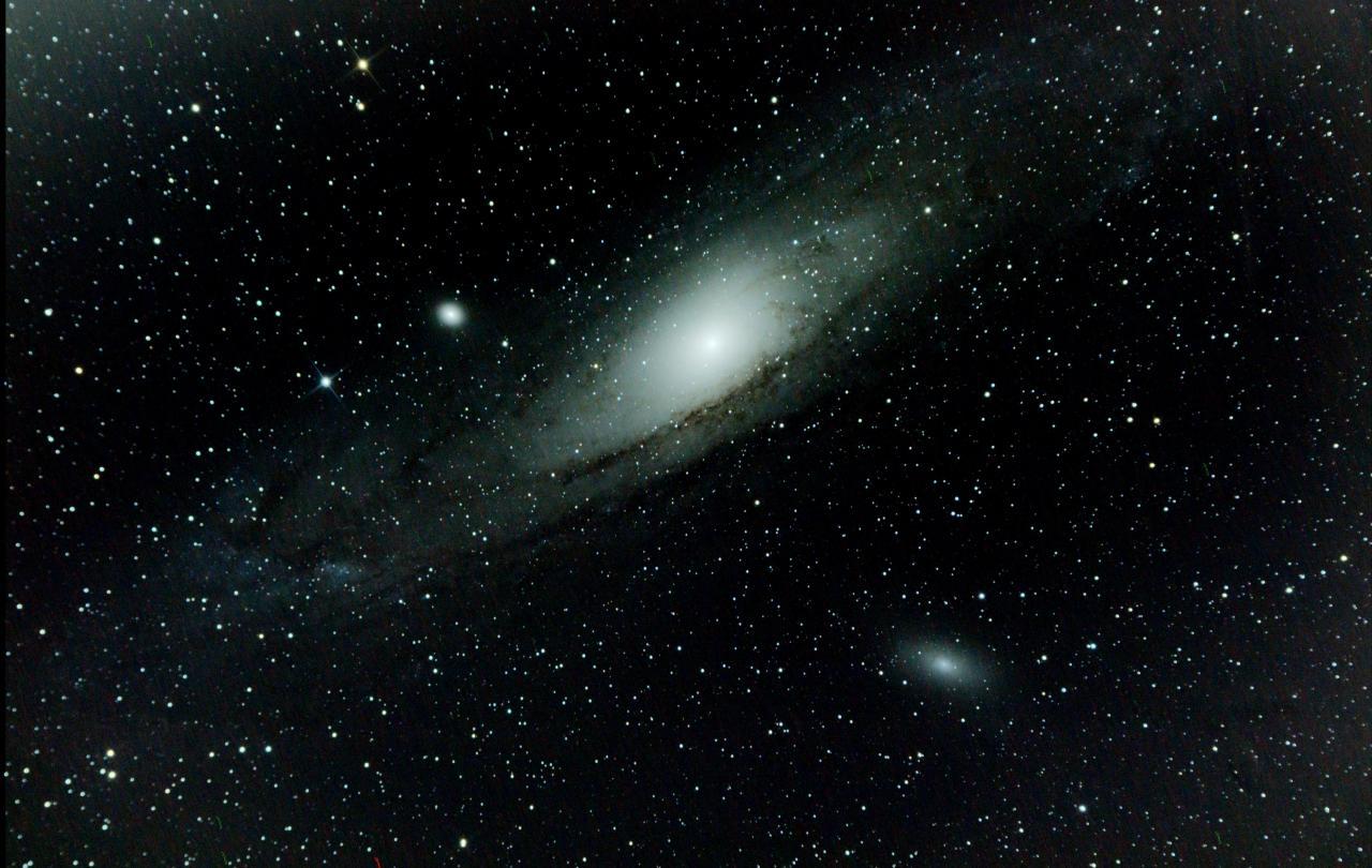 M31 Grande galaxie d'Andromède (17.08.14)