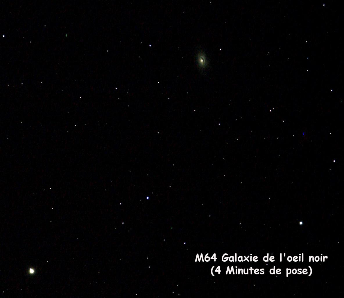 M64 Galaxie de l'oeil noir