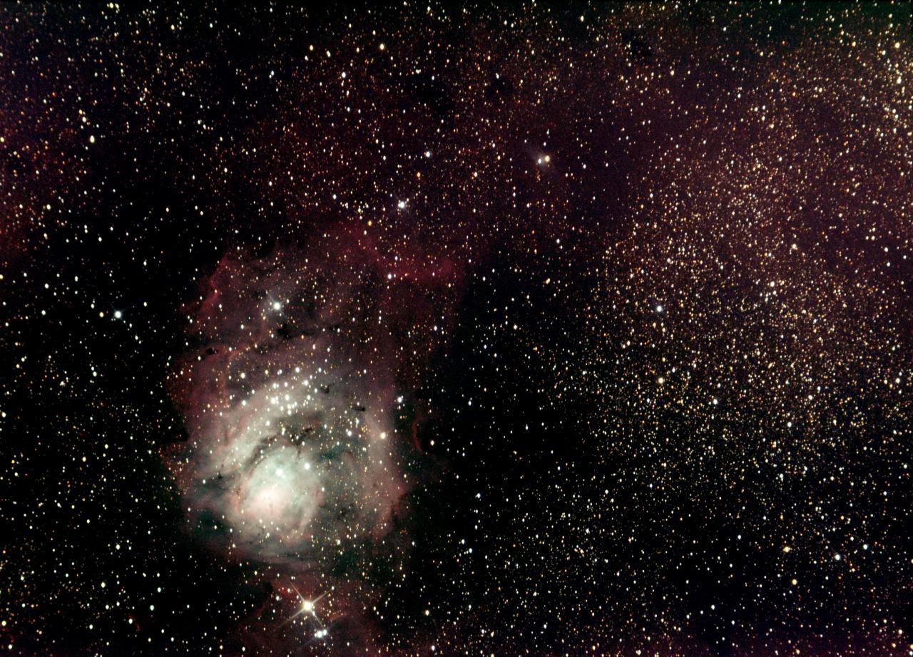 M8 Nébuleuse de la Lagune (17.08.14)
