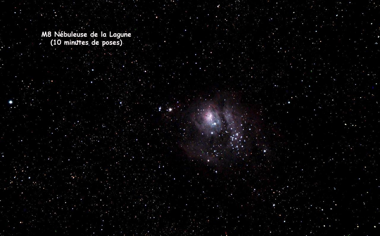 M8 Nébuleuse de la Lagune