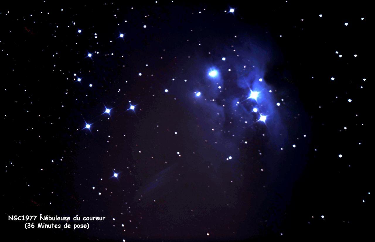 NGC 1977 Nébuleuse du coureur