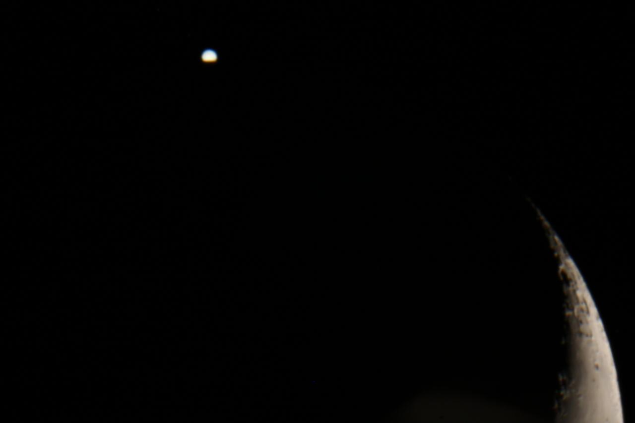 Occultation de jupiter 14.07.2012
