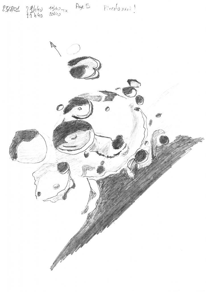 Cratère Piccolomini Lune le 23-08-01