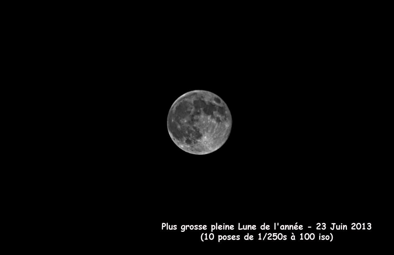 Plus grosse pleine lune 2013