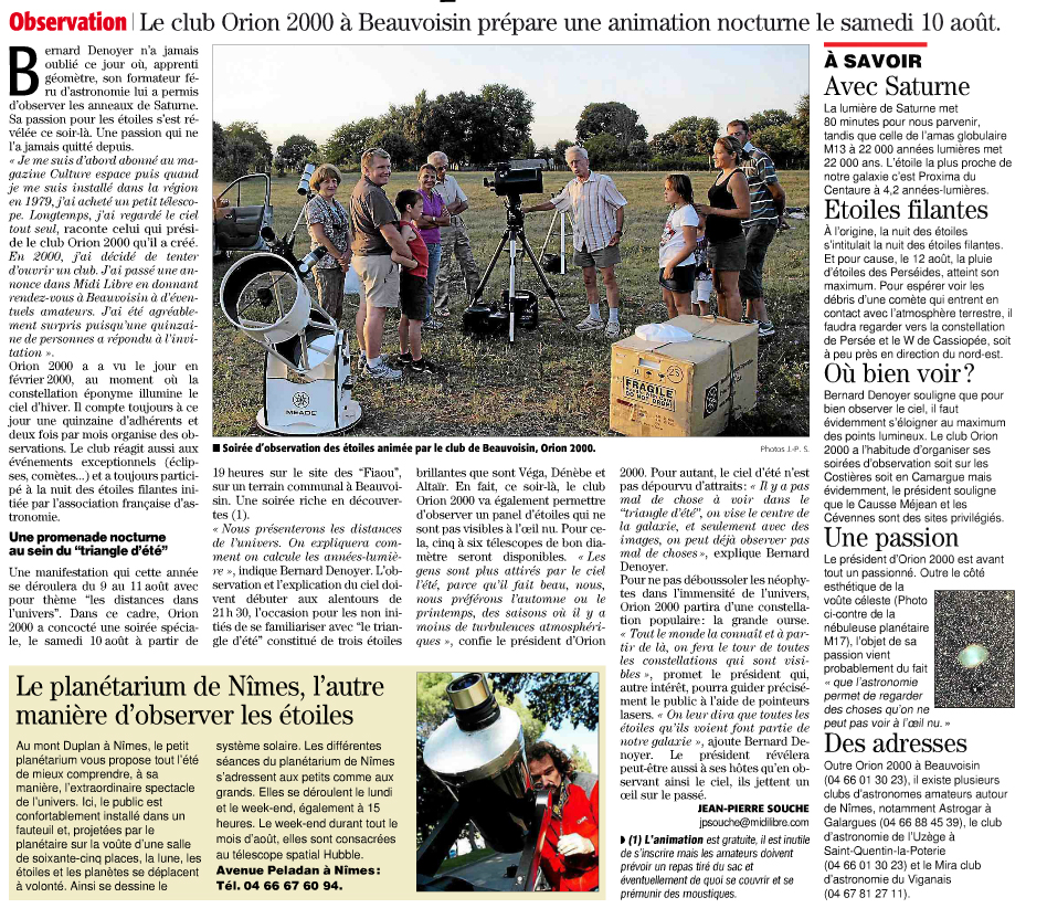 Article orion 2001
