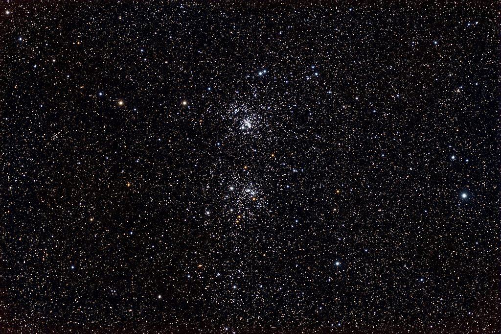 Double cluster 1