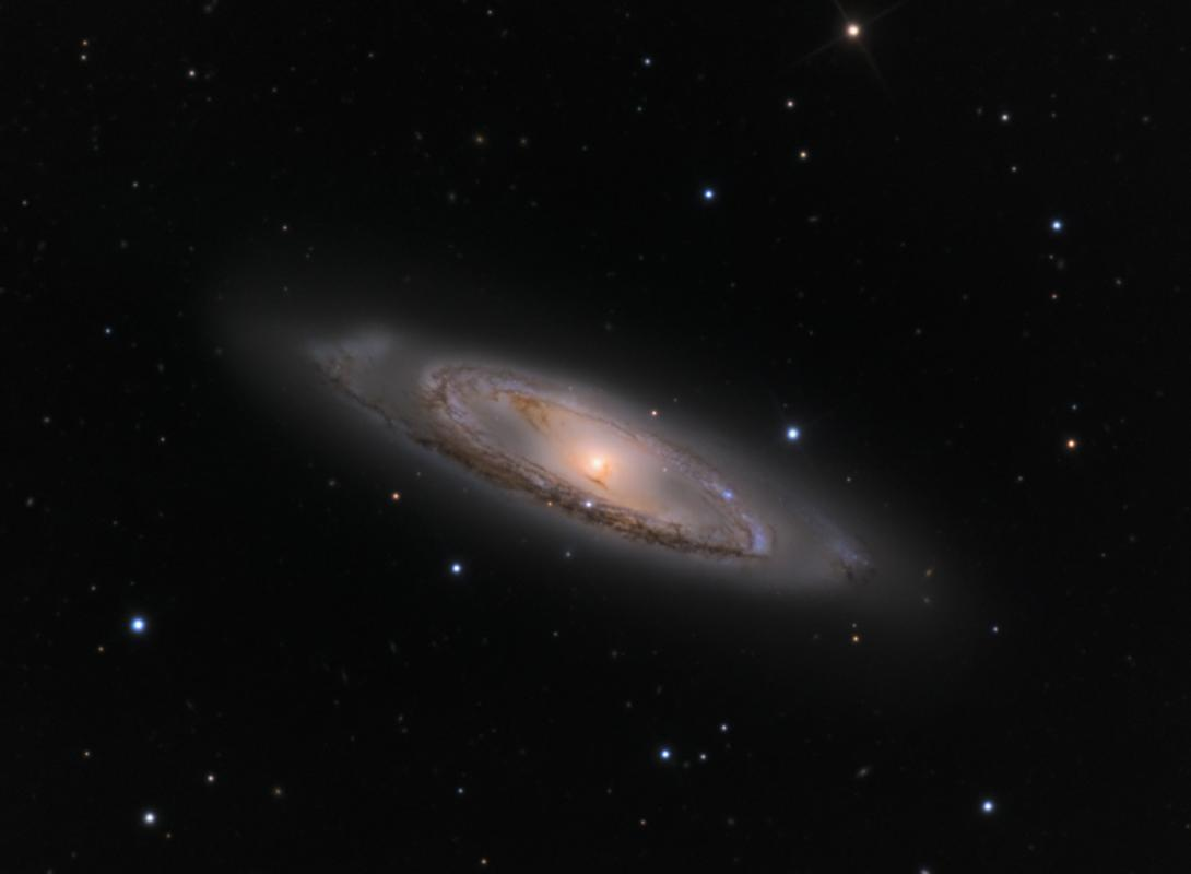 M65 galaxy from the mount lemmon skycenter schulman telescope courtesy adam block